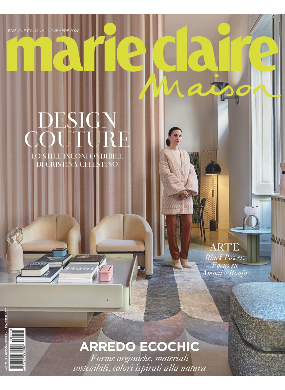 MANFREDI FINE HOTELS COLLECTION – MARIE CLAIRE MAISON – NOVEMBRE 2020