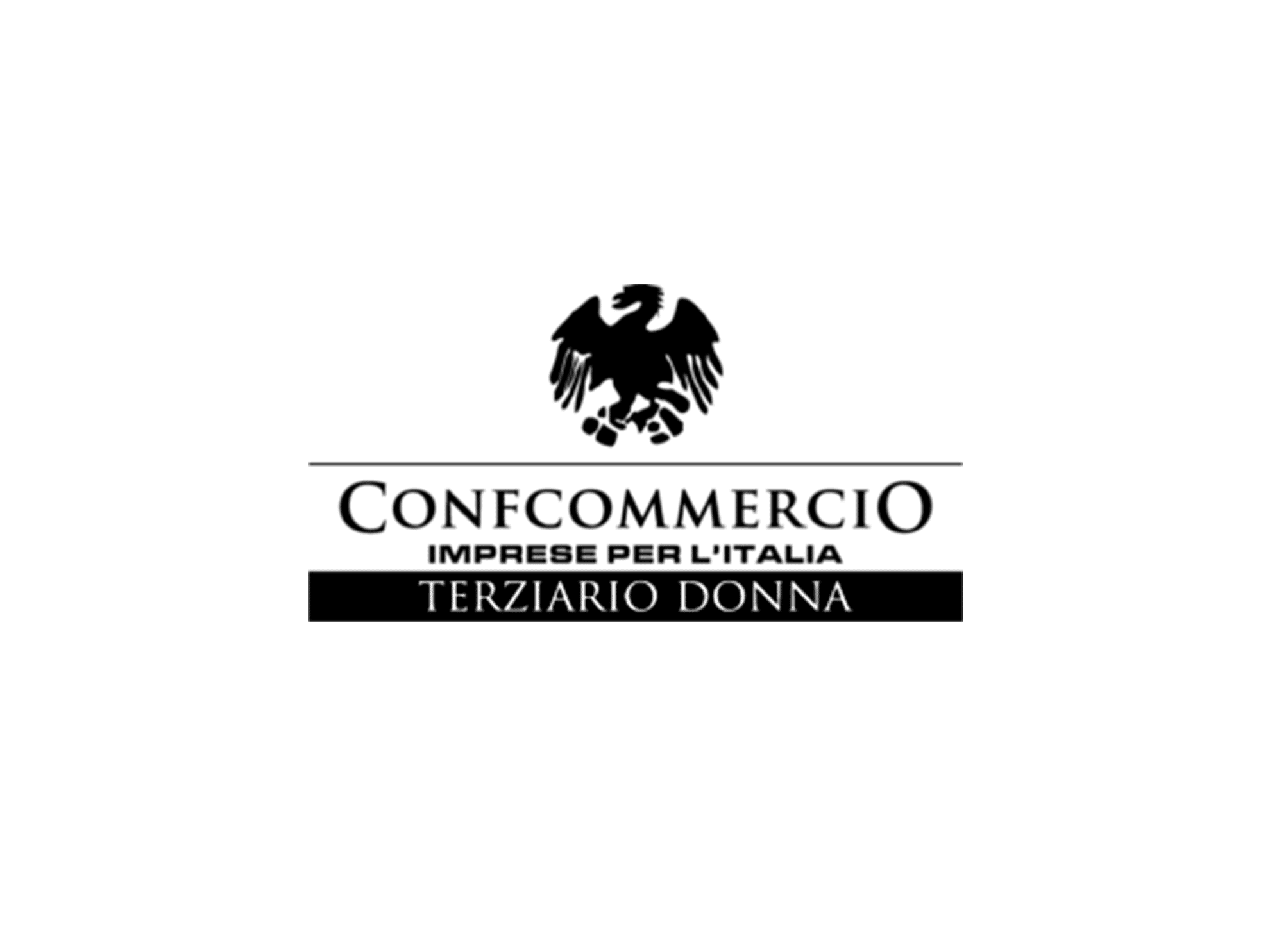 Logo Terziario Donna bw - baldassarre - agenzia comunicazione