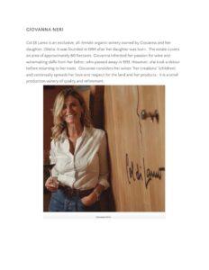 Sante Magazine Women Warriors of Brunello di Montalcino - degli - agenzia comunicazione