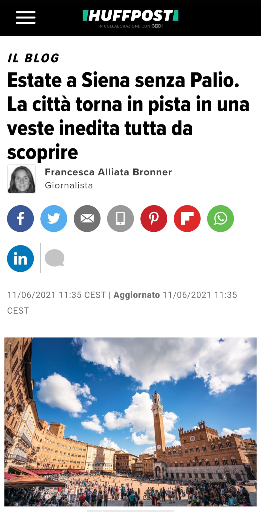 corriere - communication agency