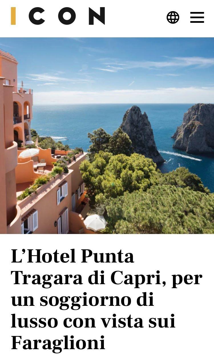 MANFREDI FINE HOTELS COLLECTION – ICON – LUGLIO 2021
