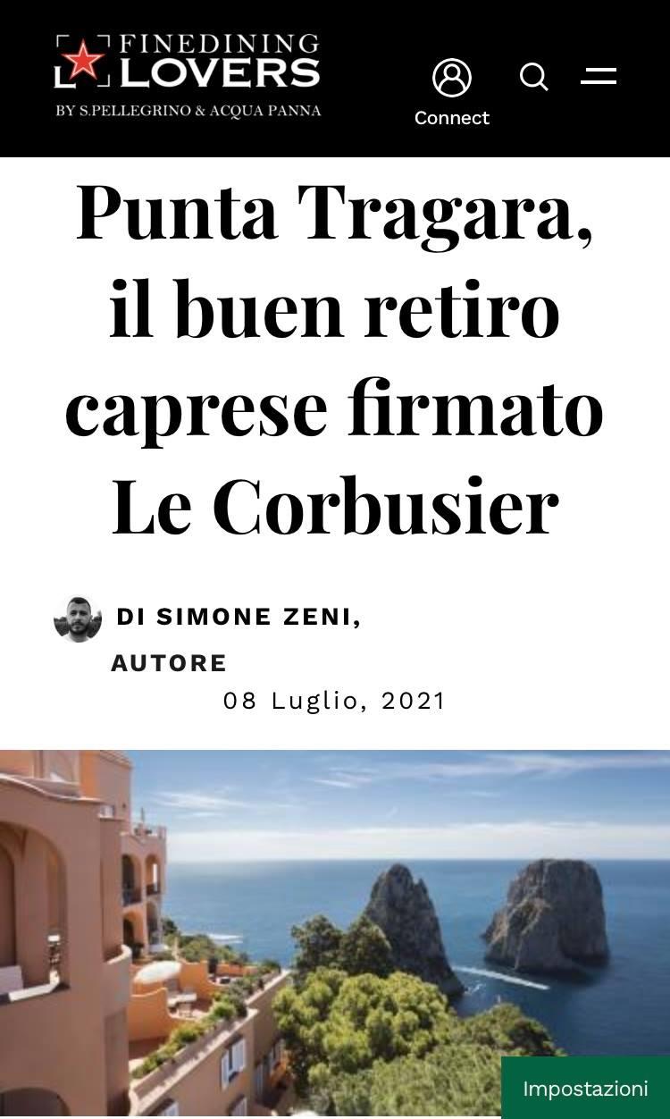 MANFREDI FINE HOTELS COLLECTION – FINEDINING LOVERS – LUGLIO 2021